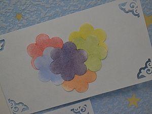 Простая аппликация, сердце из цветов :). Ярмарка Мастеров - ручная работа, handmade.