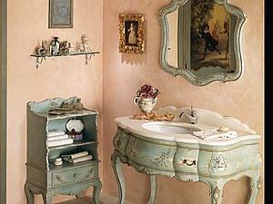 Шебби шик в интерьере. Ванная комната   Ярмарка Мастеров - ручная работа, handmade