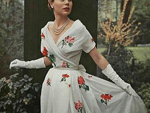 Модная сказка от Кристиана Диора. Блистательные наряды 50-х. Ярмарка Мастеров - ручная работа, handmade.