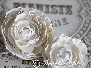 Цветы из гипса. Шикарно и очень просто. | Ярмарка Мастеров - ручная работа, handmade
