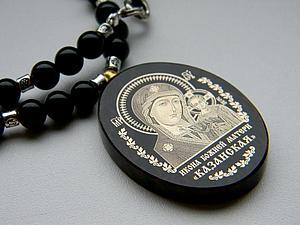 Икона Казанской Божьей Матери | Ярмарка Мастеров - ручная работа, handmade