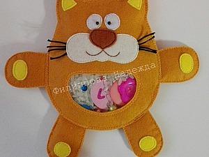 Развивающая игрушка-искалка для малыша. Ярмарка Мастеров - ручная работа, handmade.