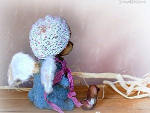 Крылья ангела. Мастер-класс по изготовлению крылышек для игрушек.. Ярмарка Мастеров - ручная работа, handmade.