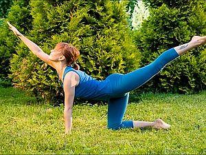 Упражнения для усталой спины.. Ярмарка Мастеров - ручная работа, handmade.