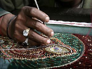 Древнее искусство вышивки  Зардози | Ярмарка Мастеров - ручная работа, handmade