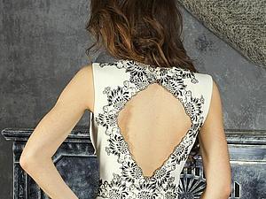 Как носить платья с открытой спиной.   Ярмарка Мастеров - ручная работа, handmade