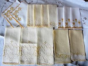 Шикарный столовый набор винтажных салфеток   Ярмарка Мастеров - ручная работа, handmade