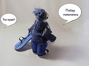Знакомьтесь, мишка-сноубордист!   Ярмарка Мастеров - ручная работа, handmade