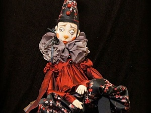 Артист ярмарочного театра - Пьеро   Ярмарка Мастеров - ручная работа, handmade