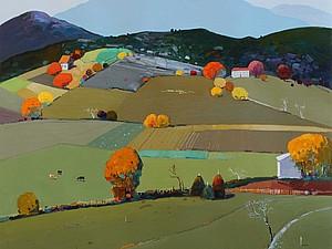 Сияющий мир гор в работах албанского художника Pashk Pervathi. Ярмарка Мастеров - ручная работа, handmade.