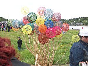 Рождение чудесных шаров-паутинок. Ярмарка Мастеров - ручная работа, handmade.