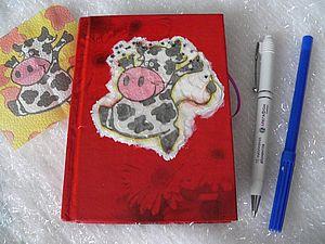 Изготовление блокнотика Желаний.. Ярмарка Мастеров - ручная работа, handmade.