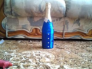 Видео мастер-класс: как оформить свадебную бутылку в стиле «Жених». Ярмарка Мастеров - ручная работа, handmade.