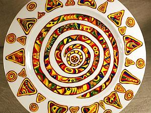 Роспись фарфора обжиговыми акриловыми красками | Ярмарка Мастеров - ручная работа, handmade