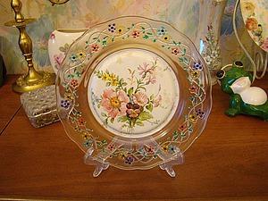 Обратный декупаж: создаем ажурную тарелочку. Ярмарка Мастеров - ручная работа, handmade.