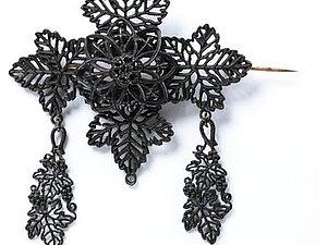 Немецкие украшения в готическом стиле из чугуна | Ярмарка Мастеров - ручная работа, handmade