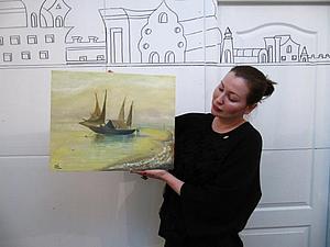 Радость в живописи или учимся рисовать с нуля   Ярмарка Мастеров - ручная работа, handmade