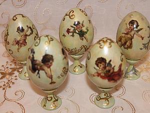 Яйца-Пасха-праздник | Ярмарка Мастеров - ручная работа, handmade