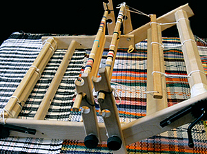 Два берда. О некоторых возможностях настольного ткацкого станка | Ярмарка Мастеров - ручная работа, handmade