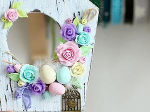 Делаем милый пасхальный декор из полимерной глины. Ярмарка Мастеров - ручная работа, handmade.