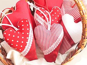 Шьем Арома-сердечки | Ярмарка Мастеров - ручная работа, handmade