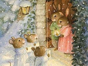 С новым годом и Рождеством! | Ярмарка Мастеров - ручная работа, handmade