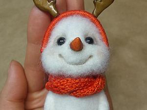 Делаем новогодние рога для игрушки, быстро и красиво. Ярмарка Мастеров - ручная работа, handmade.