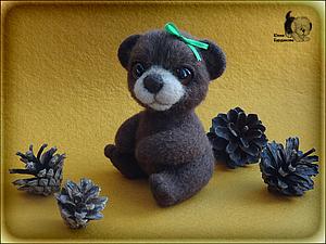 МК по валянию мишки 28/09/2013   Ярмарка Мастеров - ручная работа, handmade