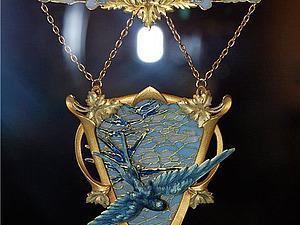 Ласточки ар-нуво | Ярмарка Мастеров - ручная работа, handmade