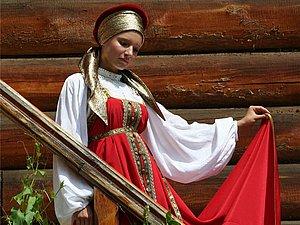 Красный цвет в русской народной одежде | Ярмарка Мастеров - ручная работа, handmade