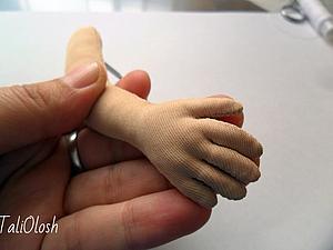 Создание армированной ручки для куклы. Часть 4 | Ярмарка Мастеров - ручная работа, handmade