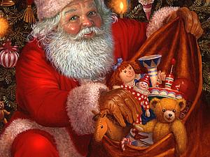 От всей души поздравляю всех  обитателей Ярмарки Мастеров С наступающим Новым годом и Рождеством!!! | Ярмарка Мастеров - ручная работа, handmade