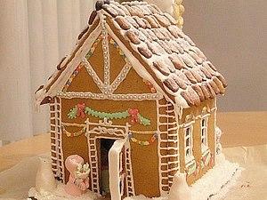 «Изготовление и роспись пряников и пряничных домиков» | Ярмарка Мастеров - ручная работа, handmade