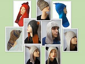 Валяная шапка с ушами по скайпу | Ярмарка Мастеров - ручная работа, handmade
