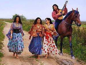 Цыганский стиль   Ярмарка Мастеров - ручная работа, handmade