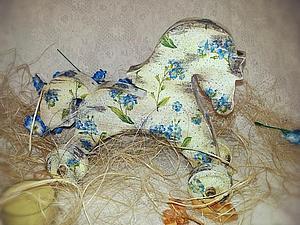 «Любимая игрушка» деревянная игрушка-лошадка | Ярмарка Мастеров - ручная работа, handmade