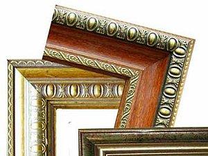 Оформление живописи в багет. Ярмарка Мастеров - ручная работа, handmade.