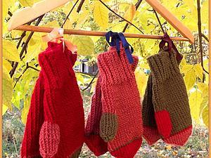 Варежки-перевертыши | Ярмарка Мастеров - ручная работа, handmade