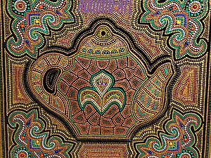 Роспись панно - Point-to-point | Ярмарка Мастеров - ручная работа, handmade
