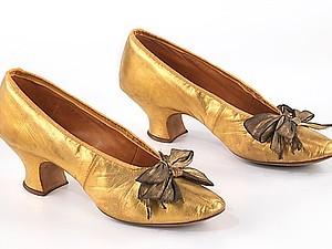 Вечерние туфли начала XX века. Ярмарка Мастеров - ручная работа, handmade.
