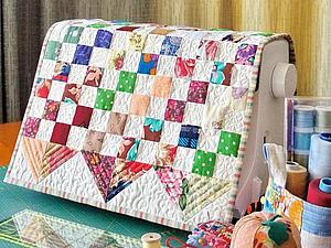Шьем два в одном: мини-панно и накидка на швейную машинку | Ярмарка Мастеров - ручная работа, handmade
