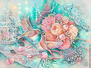 Душевные картины Елизаветы Мелкозеровой | Ярмарка Мастеров - ручная работа, handmade