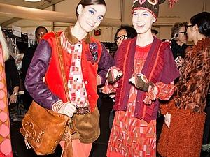 Шапки-совы от Anna Sui на New York Fashion Week | Ярмарка Мастеров - ручная работа, handmade