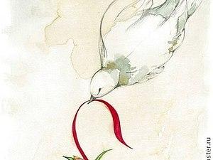 ... и пройдите сквозь меня красной нитью... | Ярмарка Мастеров - ручная работа, handmade