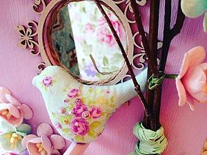 Делаем декоративный пасхальный скворечник с гнездом и птичкой. Ярмарка Мастеров - ручная работа, handmade.