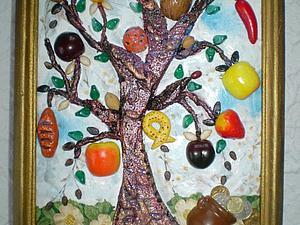 Делаем коллаж «Дерево изобилия». Ярмарка Мастеров - ручная работа, handmade.