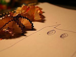 Мы точили карандаши... | Ярмарка Мастеров - ручная работа, handmade