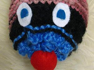 Гусеница диванная, немного странная:)   Ярмарка Мастеров - ручная работа, handmade