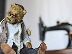 Личное знакомство: Ольга Жаркова и ее саквояж мишек. Ярмарка Мастеров - ручная работа, handmade.