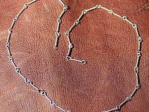 Кручение цепочки из проволоки на самодельном станке. Ярмарка Мастеров - ручная работа, handmade.